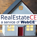 RealEstateCE - real estate license renewal banner