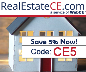 RealEstateCE - real estate license renewal - Click Here