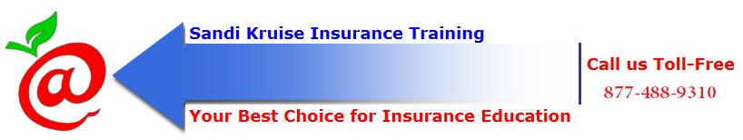 Register   Sandi Kruise Insurance Training