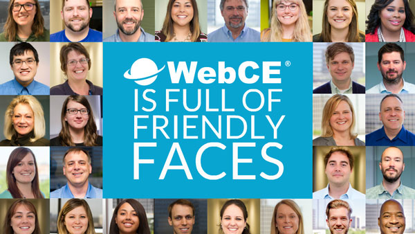 Friendly Faces of WebCE