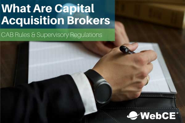 what are capital acquisition brokers (CABs)