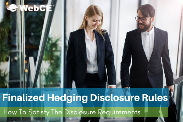 Hedging Disclosure Rules