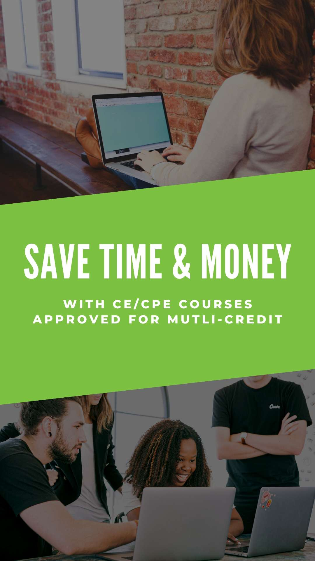 Save Time & Money with Multi-Credit CE Courses