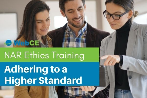NAR Ethics Training: Adhering to a Higher Standard