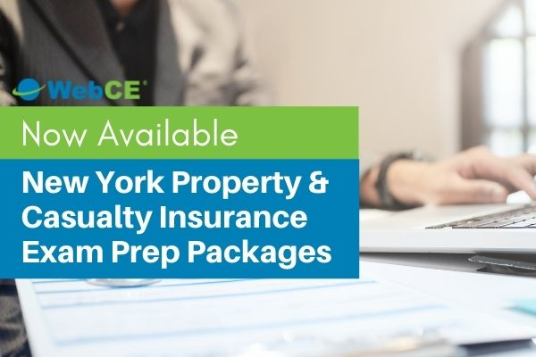 New York P&C Insurance Exam Prep Packages Now Available