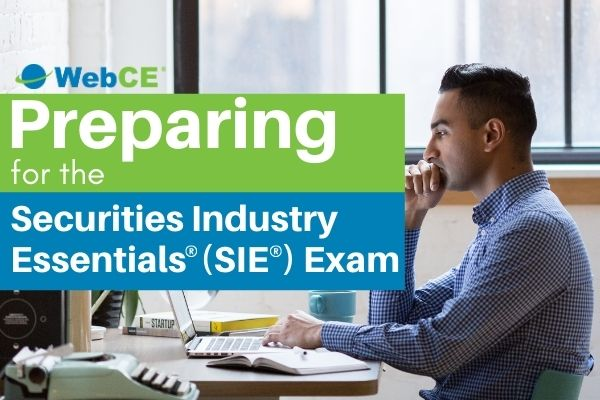 Preparing for the Securities Industry Essentials (SIE) Exam