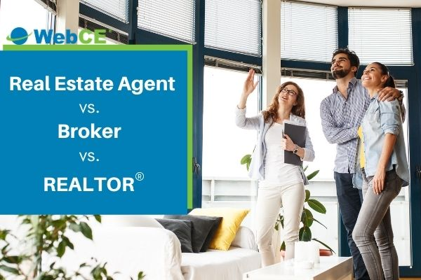 real estate agent vs broker vs realtor