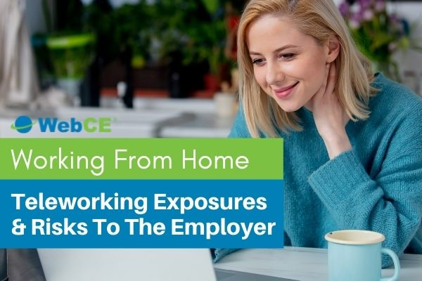 Working from Home: Teleworking Exposures and Risks to the Employer