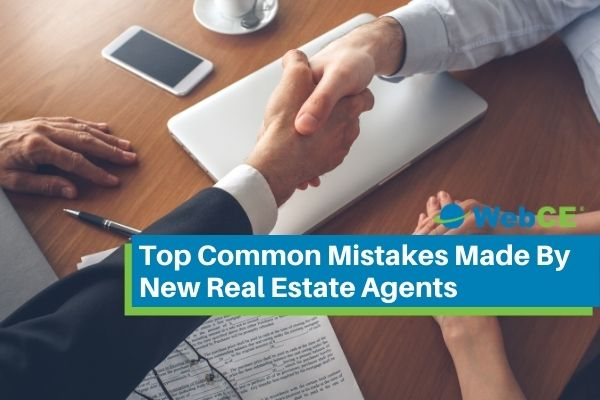 Top Common Mistakes Made By New Real Estate Agents
