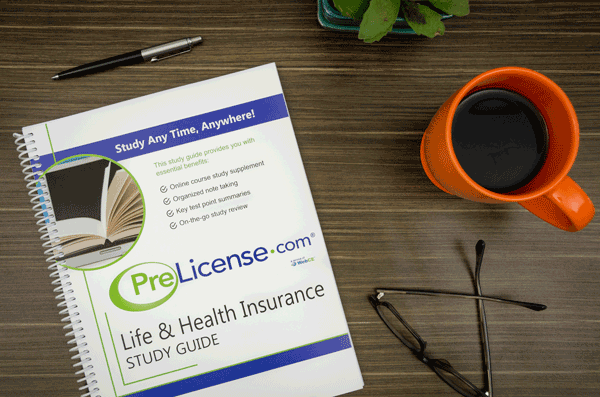 Insurance License Exam Prep Study Guide Workbook