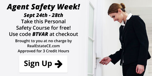 RealEstateCE's REALTOR® Safety Week