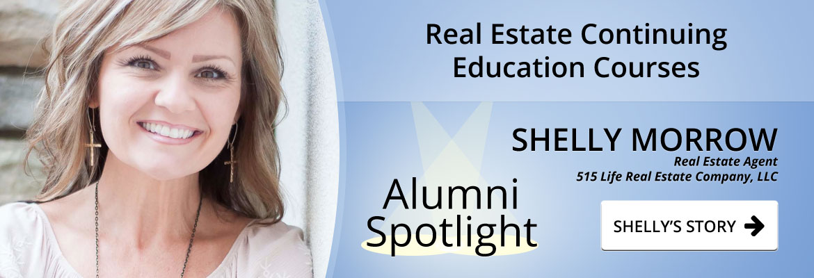 banner image featuring profile image of Real Estate Agent Shelly Morrow