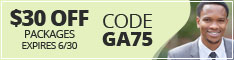 Georgia coupon code GA75