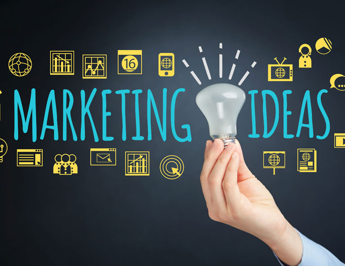 Use marketing principles and strategies to reach target markets. image