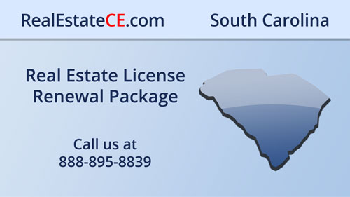South Carolina Real Estate CE real estate continuing education package course video image