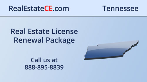 TN Real Estate Commission Approved CE real estate continuing education package course video image