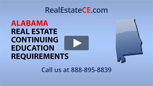 Alabama real estate state renewal requirements image