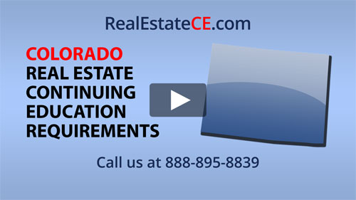 Colorado real estate state renewal requirements image