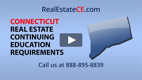 connecticut real estate continuing education