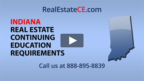 Indiana real estate state renewal requirements image