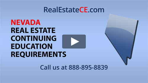 Nevada Real Estate Division Approved Online Ce