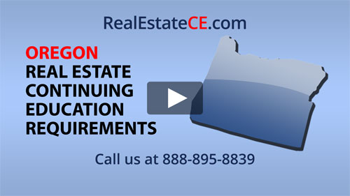 Oregon real estate state renewal requirements image
