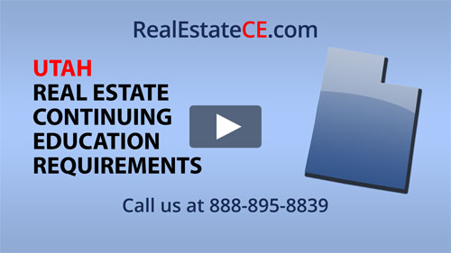 Utah real estate state renewal requirements image