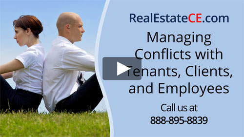 Utah real estate license renewal course video image