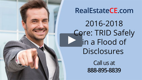 South Carolina real estate license renewal course video image